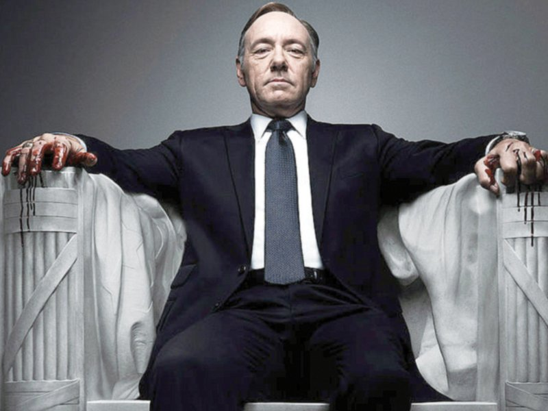 Kevin, who plays a Democratic congressman in House of Cards, has been recognised many times for his strong role. PHOTO:FILE