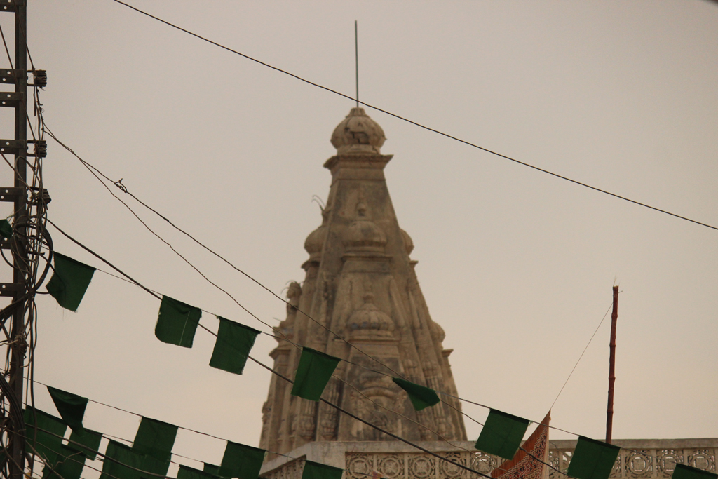 the temple is locally called kubi and is a very prominent building photo kamran siddiqui