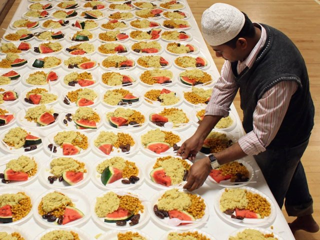 I and many others like me dread Ramazan because it means another month of being dishonest to our Muslim families and friends. PHOTO: GETTY