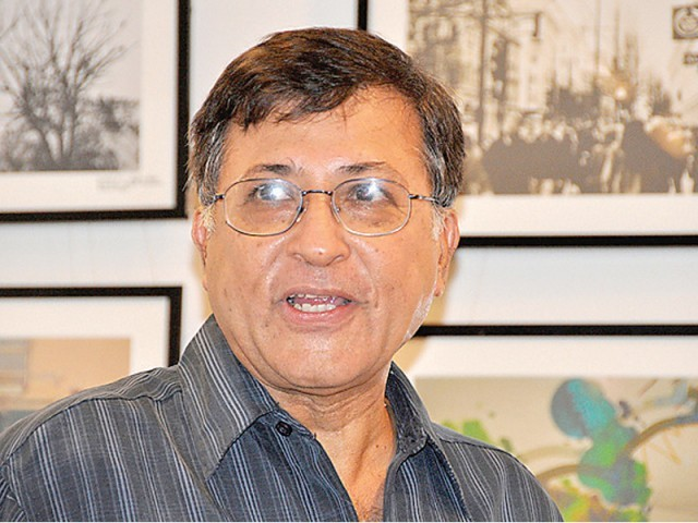 Dr Hoodbhoy says he is being punished for writing an article for a local publication about the online learning in Pakistan. PHOTO: FILE