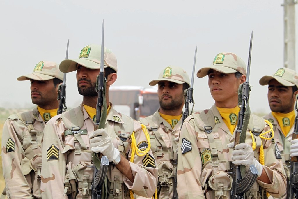 iranian soldiers photo afp