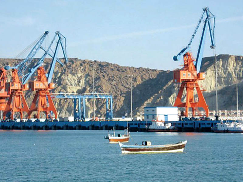 under the short term plan islamabad and beijing want to develop gwadar port whose control had already been given to china in a bid to attract investment in different sectors photo file