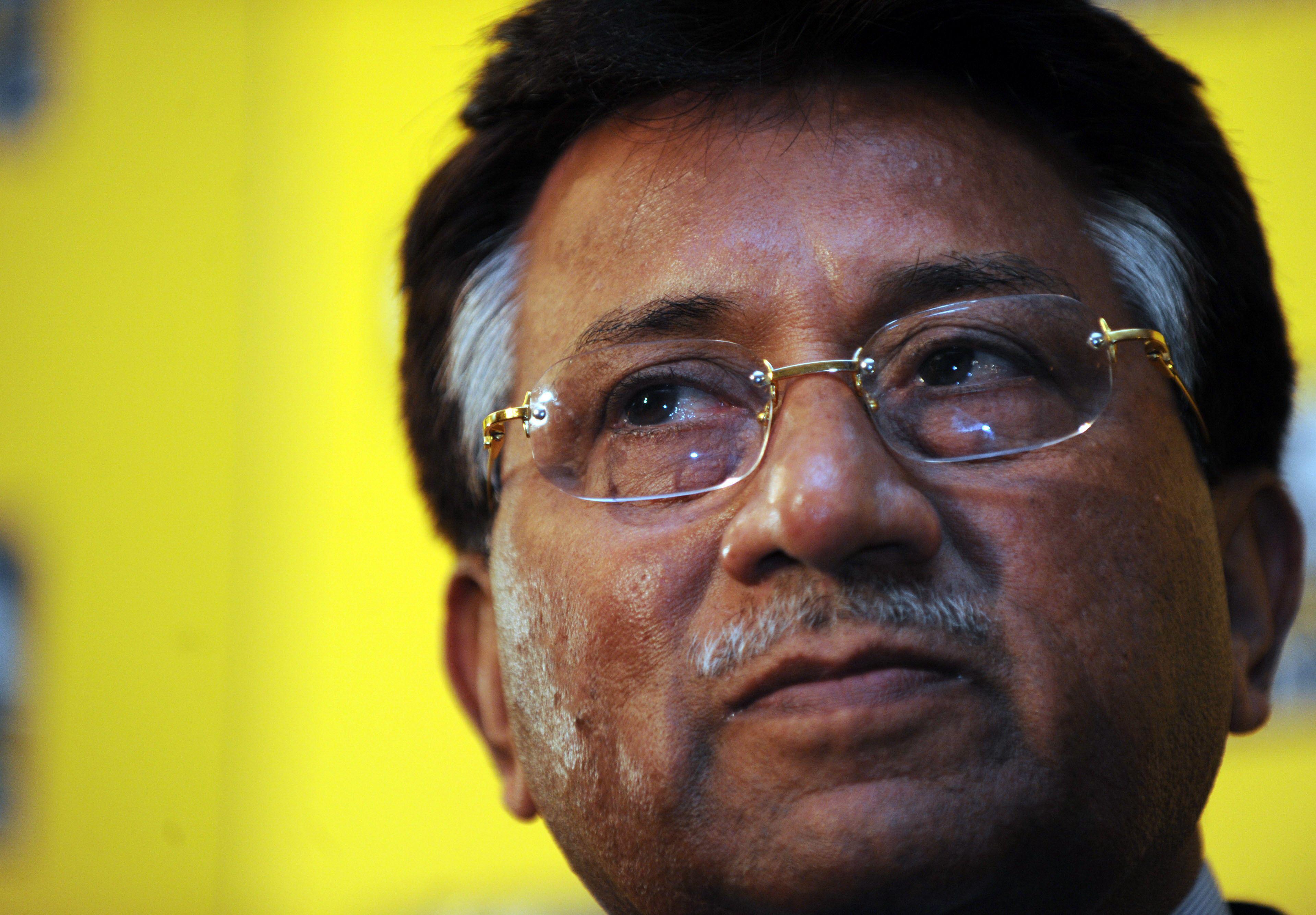 Former president General (retd) Pervez Musharraf. PHOTO:AFP