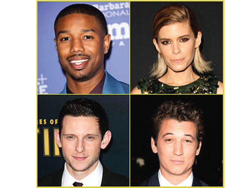 It appears the Fantastic Four reboot has finally found its four. PHOTO: FILE