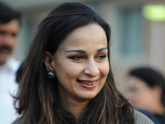 Pakistan's former Ambassador to the United States Sherry Rehman. PHOTO: AFP