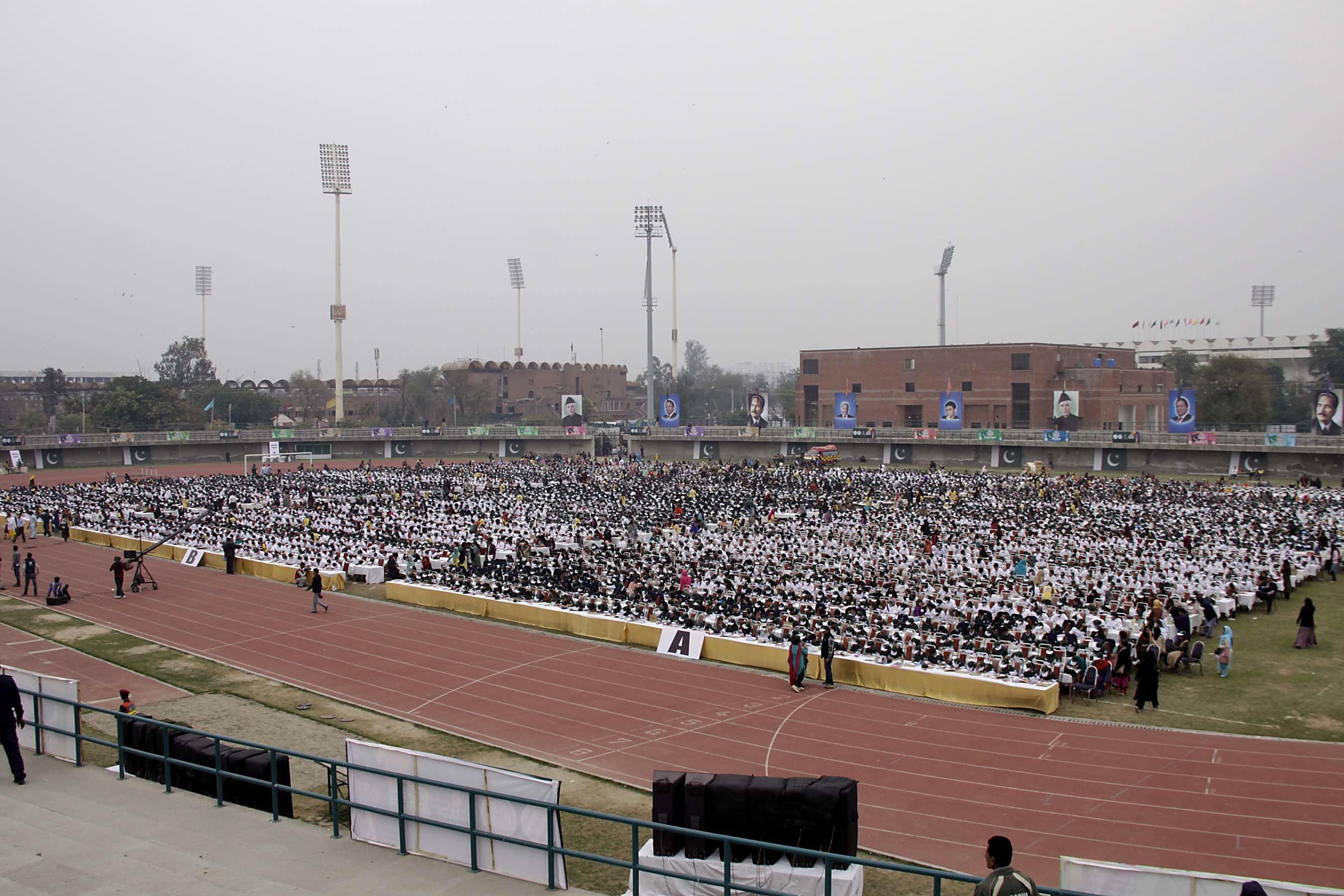 over 5 000 students set new world record photo shafiq maliq