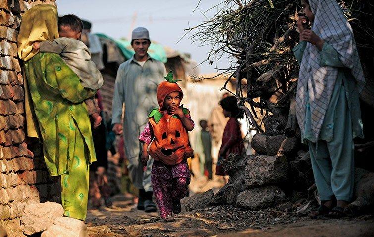 a file photo of a slum in islamabad photo afp file