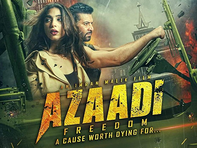 A potpourri of romance, patriotism, action and drama – that's Azaadi in a nutshell. PHOTO: IMDB