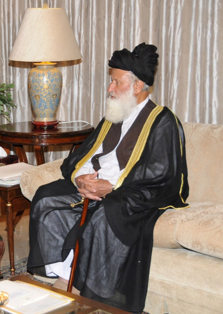 CII Chairman Maulana Muhammad Khan Sheerani. PHOTO: PID