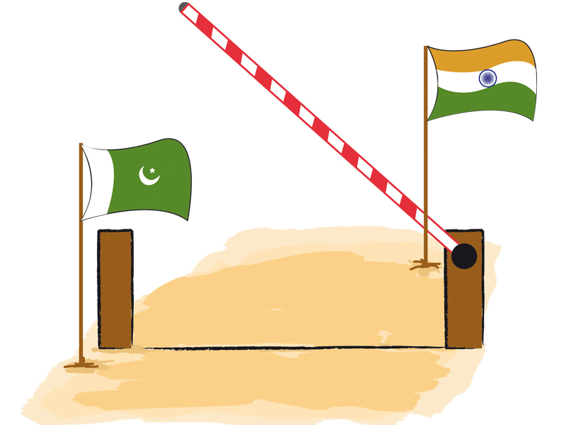 india has accepted pakistan s demand to exclude 160 items mainly textile products from its pakistan specific sensitive list illustration talha ahmed khan