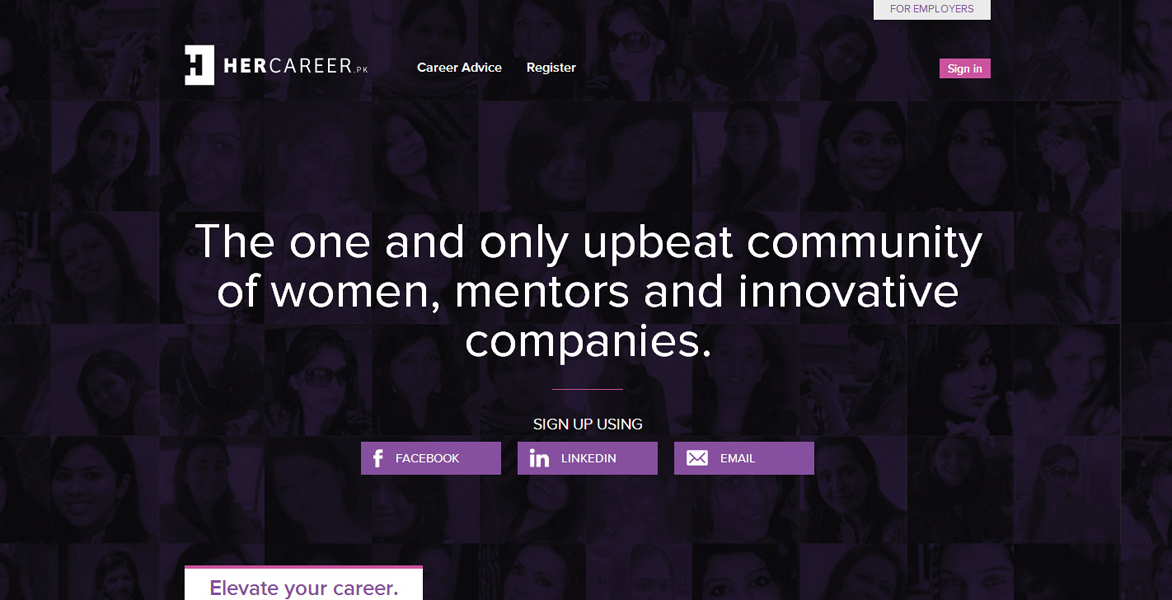 The portal mainly targets urban educated women by connecting the latter to work opportunities, such as on-site, full-time jobs and work-from-home jobs. SOURCE: WEBSITE