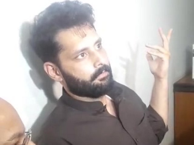 Jibran Nasir was reportedly told that he's fortunate that he was only slapped, not shot. PHOTO: SCREENSHOT