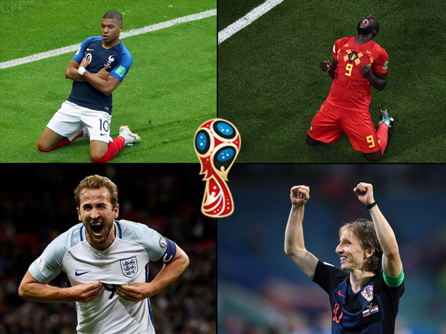 The semi-final line-up has two tasty encounters, with France taking on Belgium on Tuesday (11 PM PST), and England facing Croatia a day later (11 PM PST).