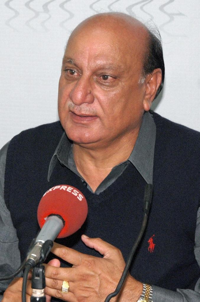 pml q punjab senior vice president and former provincial law and local government minister muhammad basharat raja photo shahbaz malik