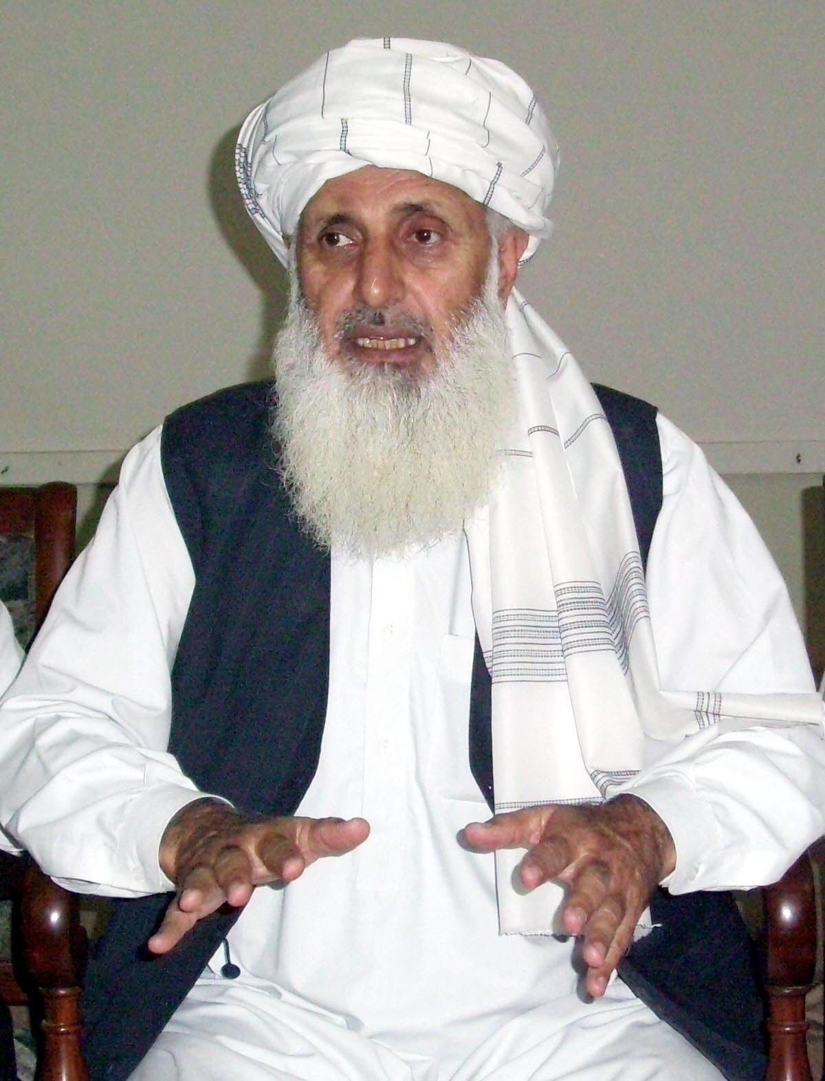 TTP intermediary Professor Ibrahim. PHOTO: SAMEER RAZZAQ