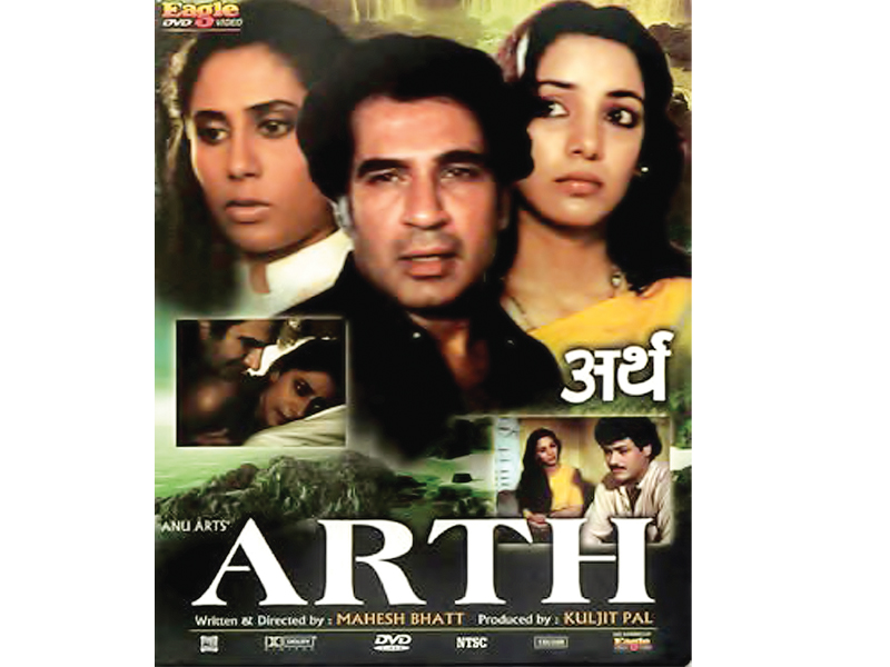 The official poster of the 1982 Bollywood film, Arth. PHOTOS: FILE