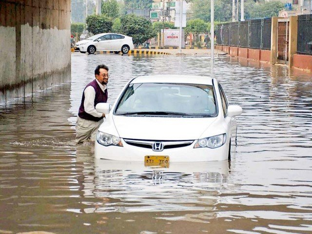 if lahore couldn t handle the rains what hope does karachi have