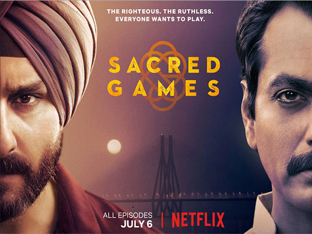 With 190 countries as its playing field and the ability to speak 20 different languages on its side, Netflix seems invested in turning Sacred Games into a sleeper hit. PHOTO: IMDB