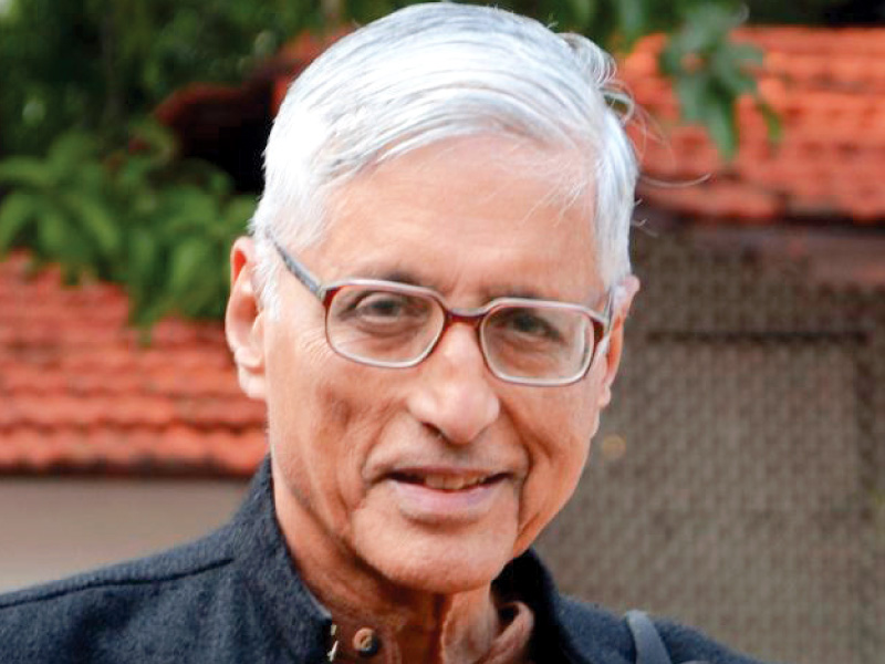 Rajmohan Gandhi. PHOTO: FILE