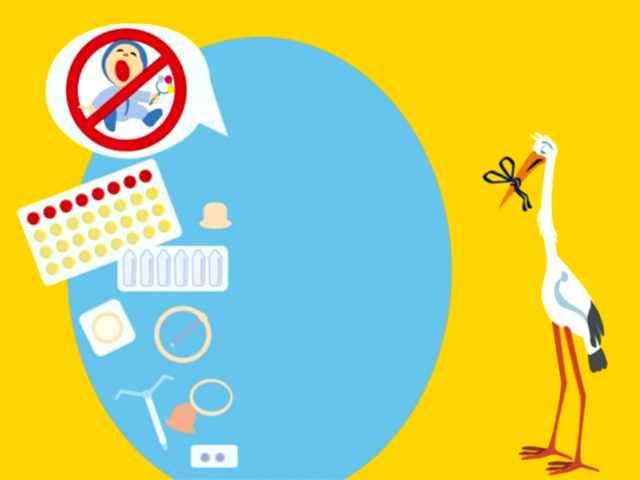 Contraception is treated as just another taboo and conveniently swept under the rug. ILLUSTRATION: TRIBUNE CREATIVE