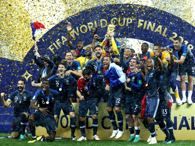 Fifteen players of the French national team come from Africa, while seven are Muslims. PHOTO: TWITTER/ FIFAWorldCup