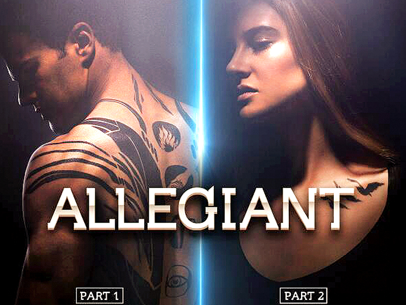 Allegiant Part 1 is set to be released on March 18, 2016, and its second part a year later on March 24, 2017. PHOTO: FILE