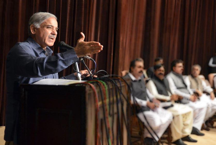 chief minister shahbaz sharif photo inp file