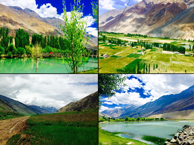 The trip opened my eyes to the incredible beauty and bloom of G-B, which I was totally blind to earlier. PHOTO: ZEBAISH RAZA CHEEMA