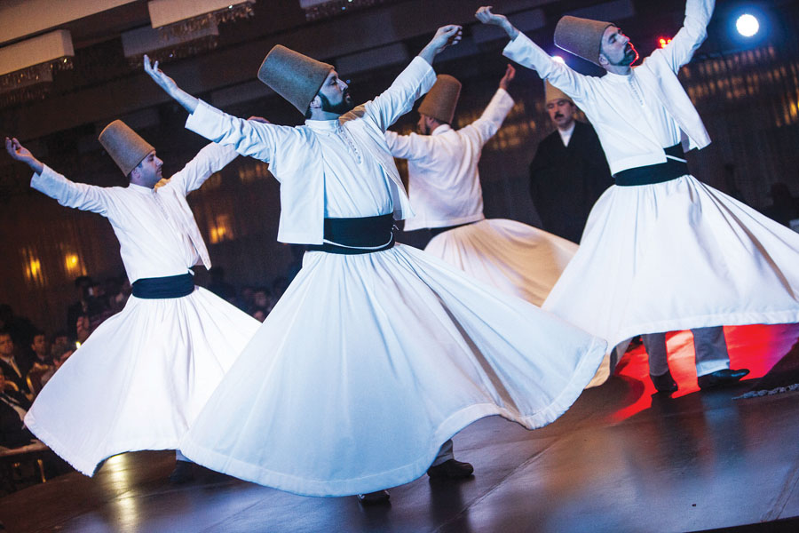 the whirling dervishes come to islamabad