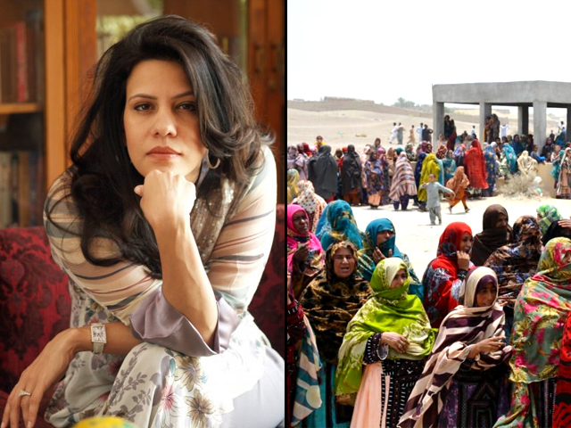 sara taseer stated she would not be too sure about letting these woman decide what to cook in her kitchen let alone letting them decide the fate of the country
