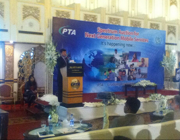 pta chairperson addressing the audience photo azam khan