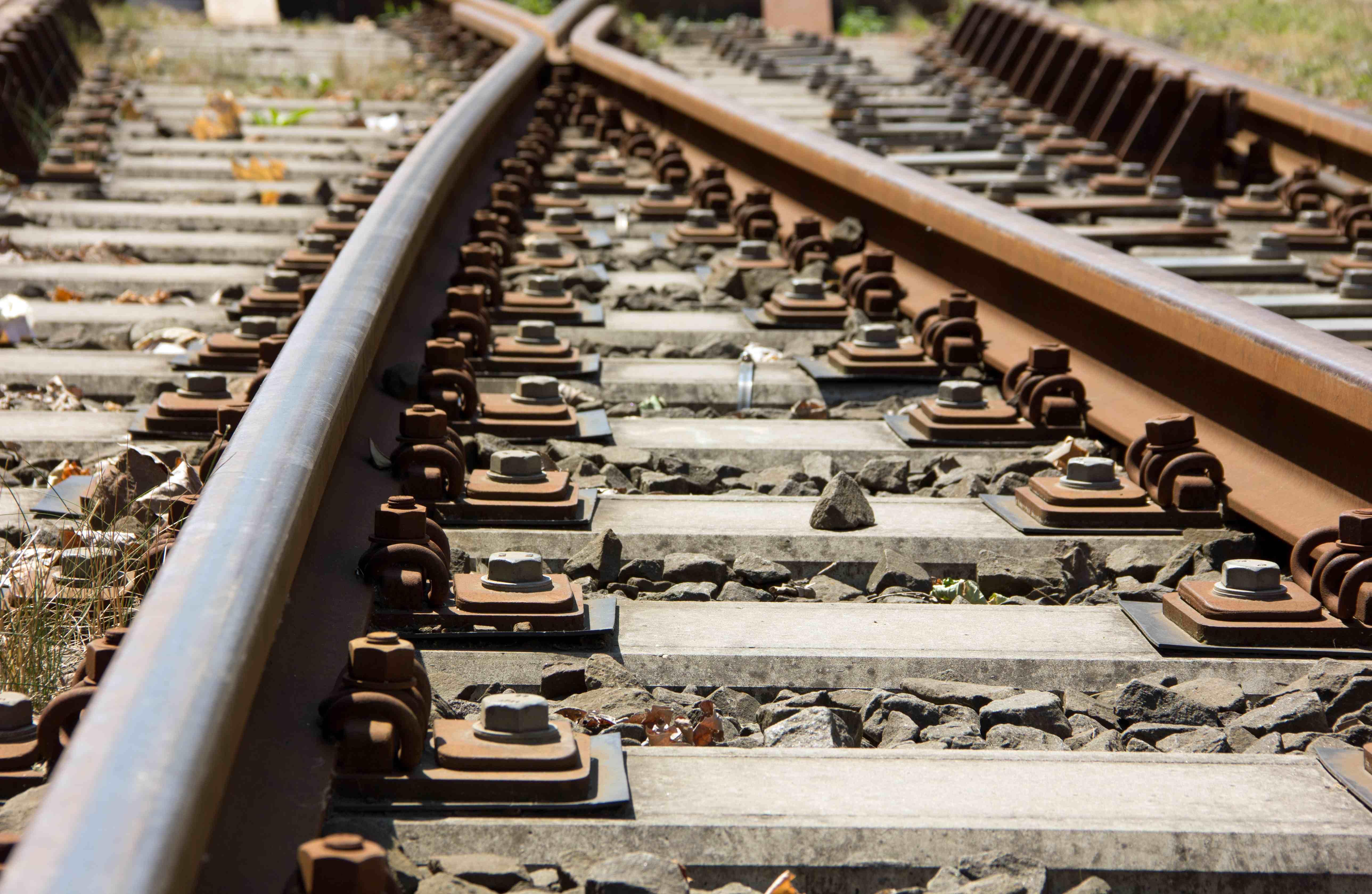 citizens stage sit in on railway tracks in karachi
