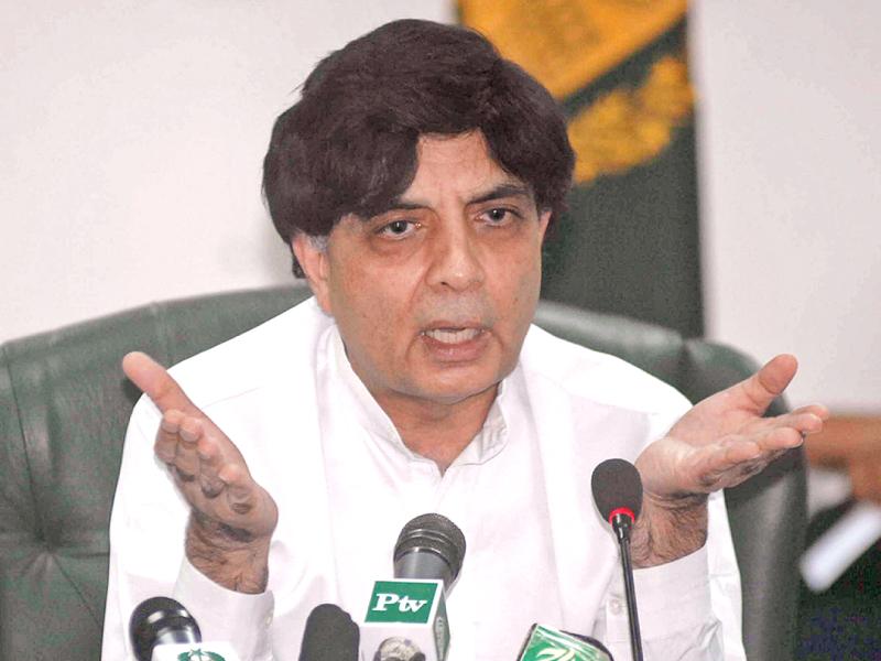 interior minister chaudhry nisar photo app