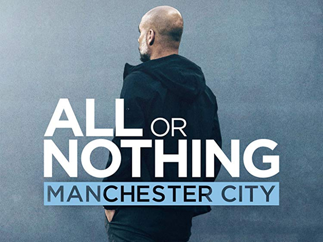 Manchester City entered a £10 million deal with e-commerce giant Amazon to document the record-breaking season. PHOTO: IMDB