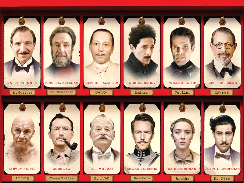 the grand budapest hotel is an aesthetic treat but fails to evoke much emotion