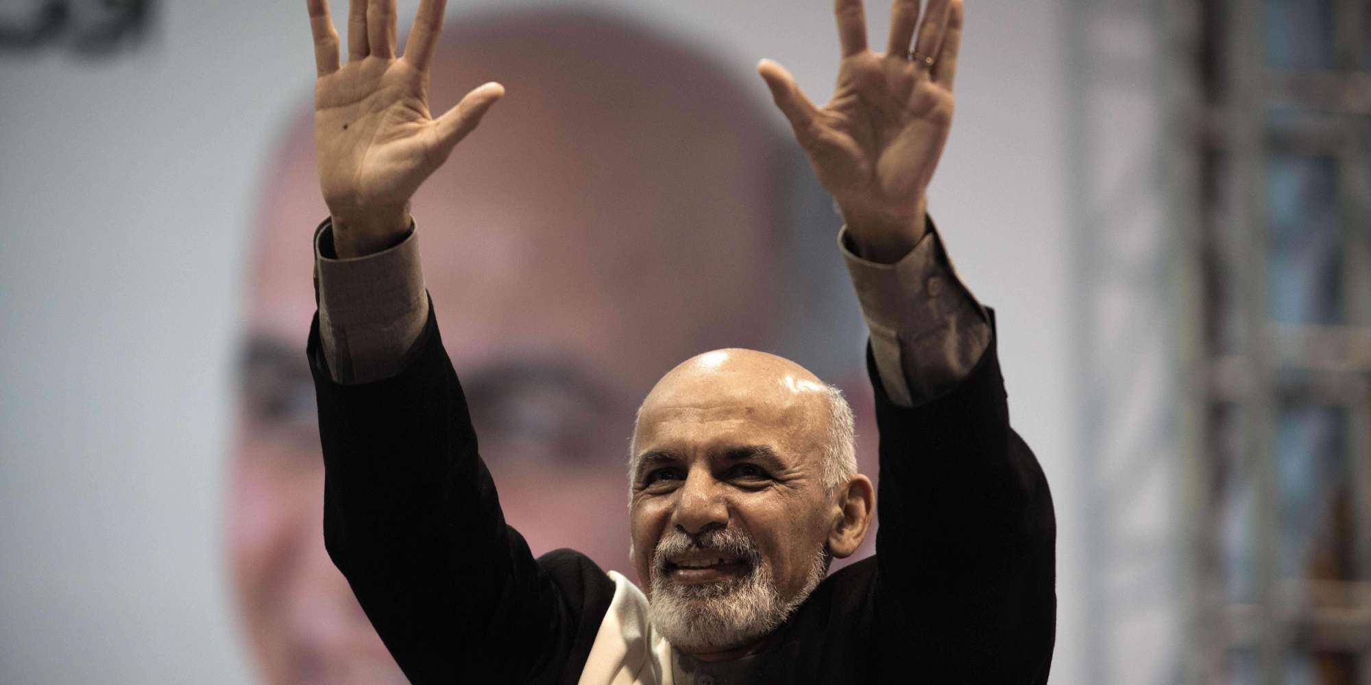 ashraf ghani quot we will be victorious in the second round are you ready for victory quot photo reuters file