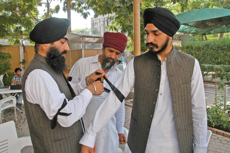 pakistan sikh council warned of a countrywide protest if their demands for security are not met photo mohammad saqib express