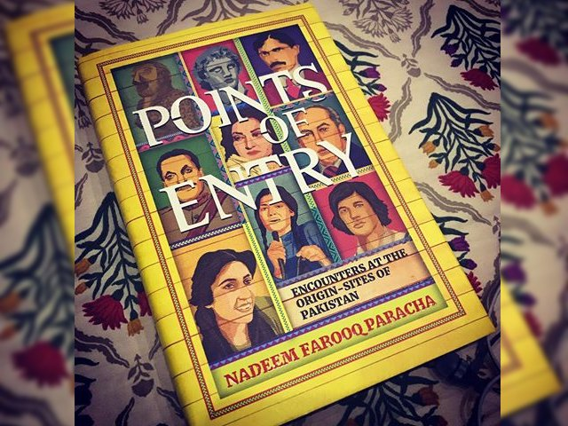 In his latest book, among other things, Paracha's main emphasis is on the way history is being taught and the effect it is having on the population. PHOTO: INSTAGRAM/ THESARAABBAS