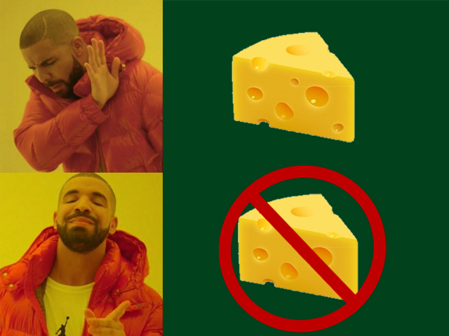 How was it not petty and ludicrous to mount an attack on cheese imports in the first place?