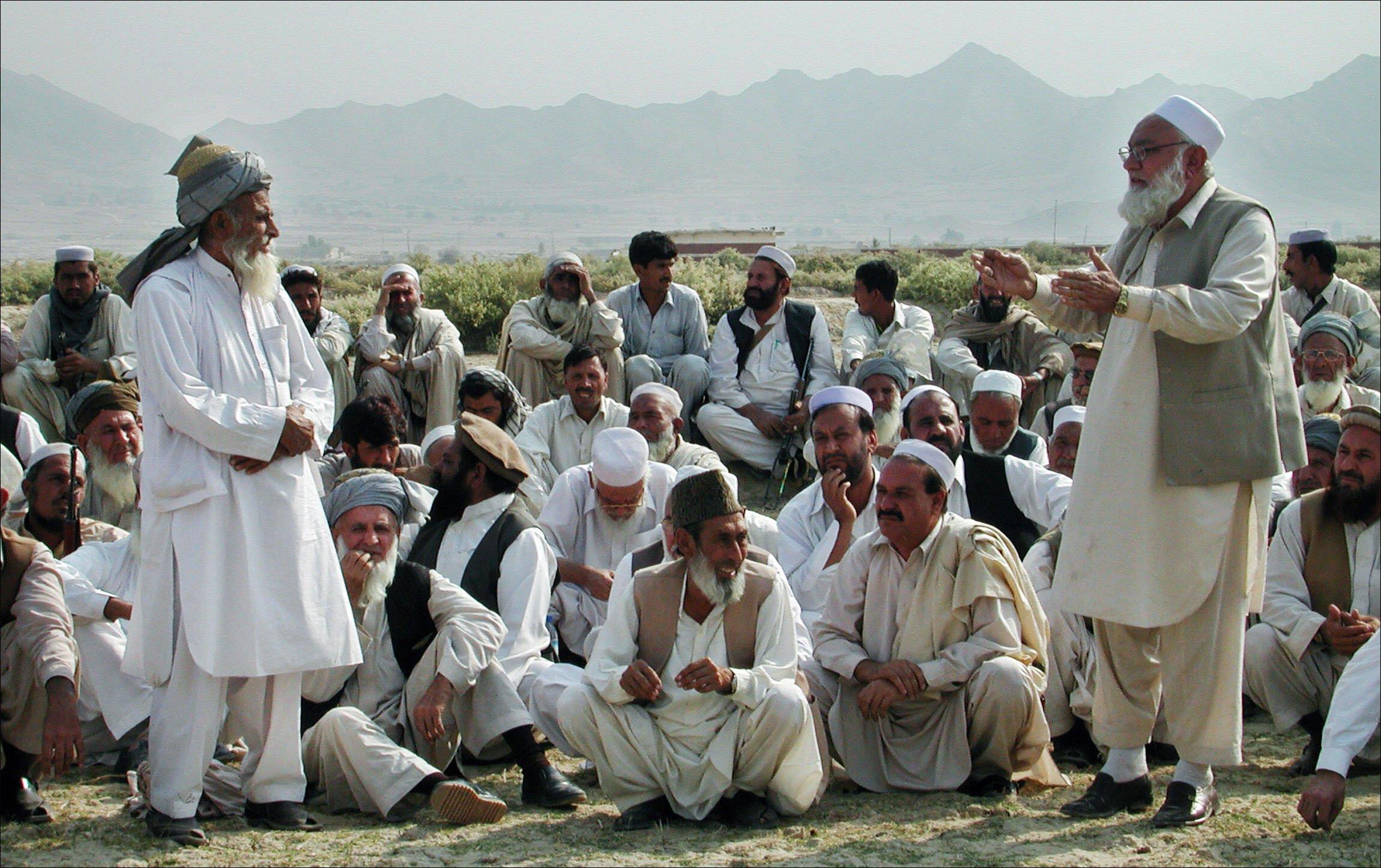 a file photo of a jirga photo afp file