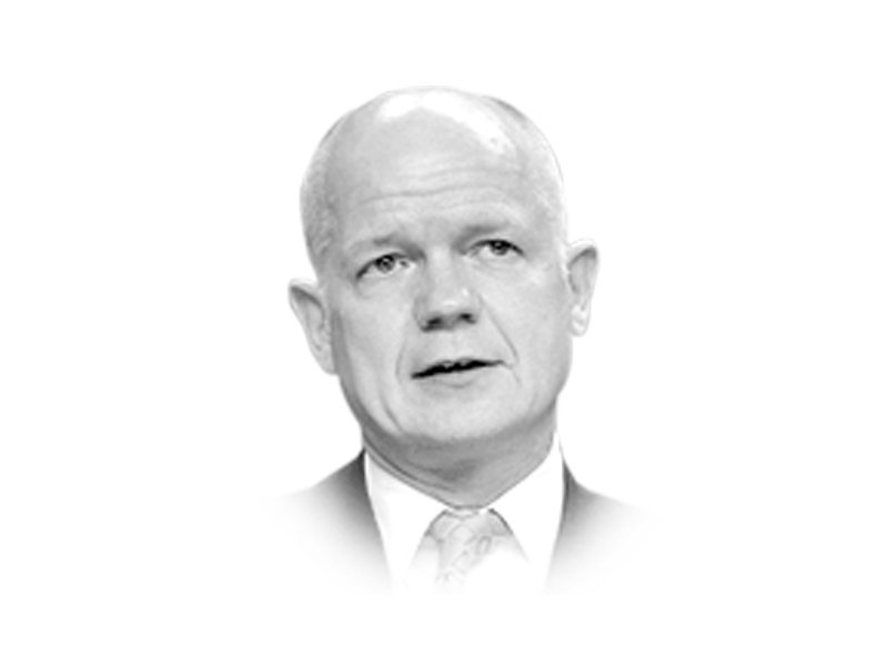 william hague is foreign secretary of britain angelina jolie is a un special envoy