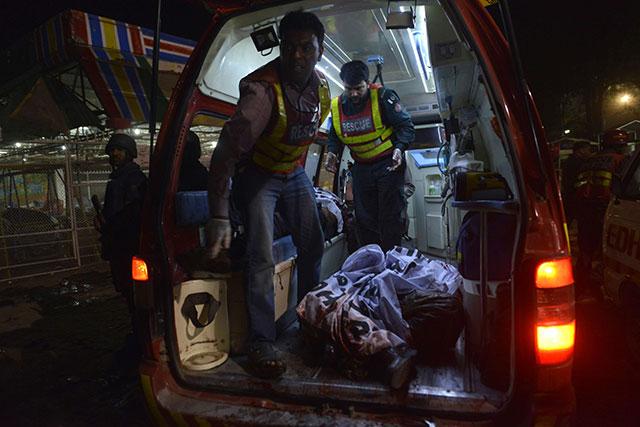 timeline of major attacks on minorities in pakistan