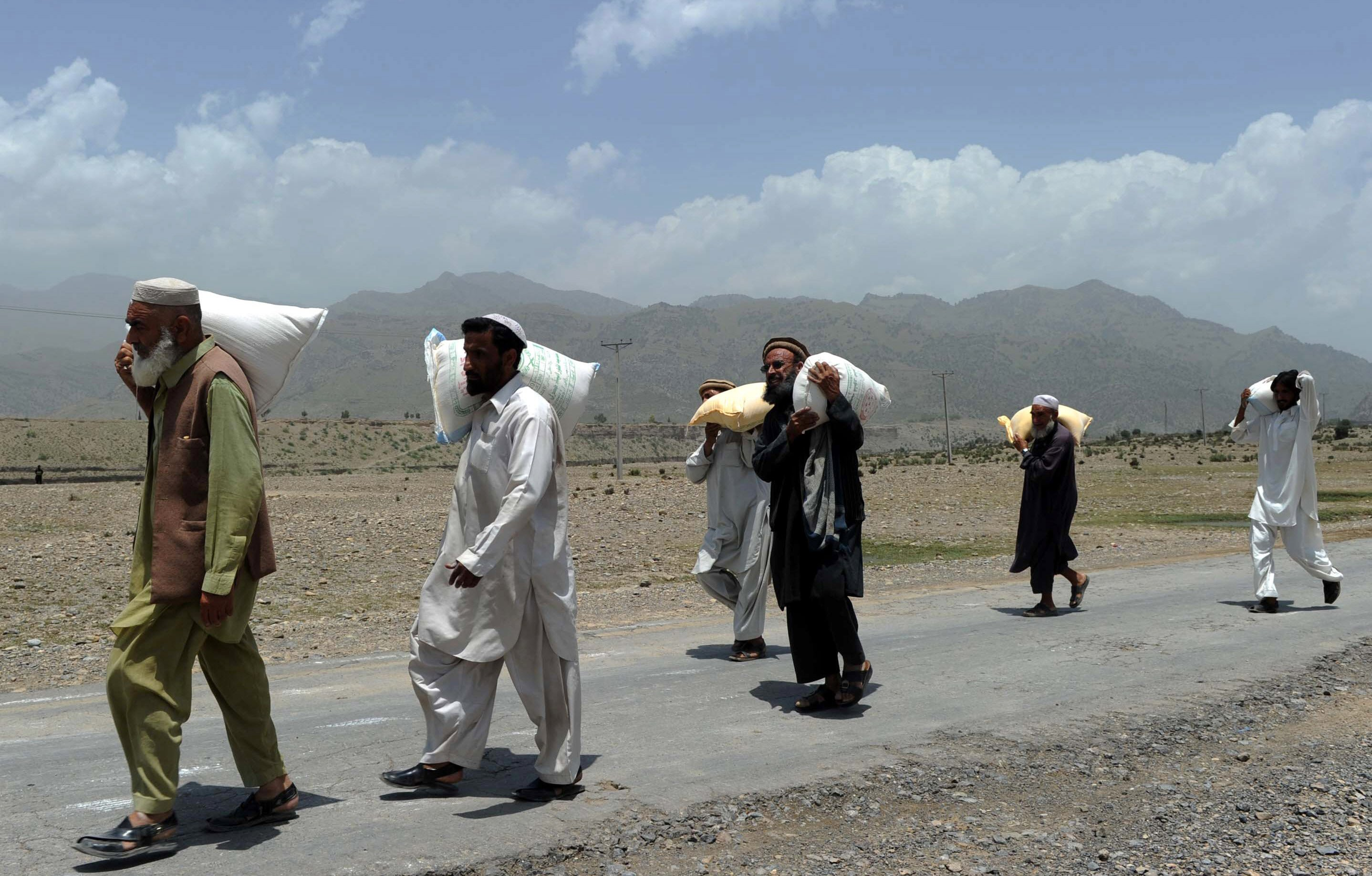 exodus revisited displaced families from n waziristan find respite in bannu afghanistan