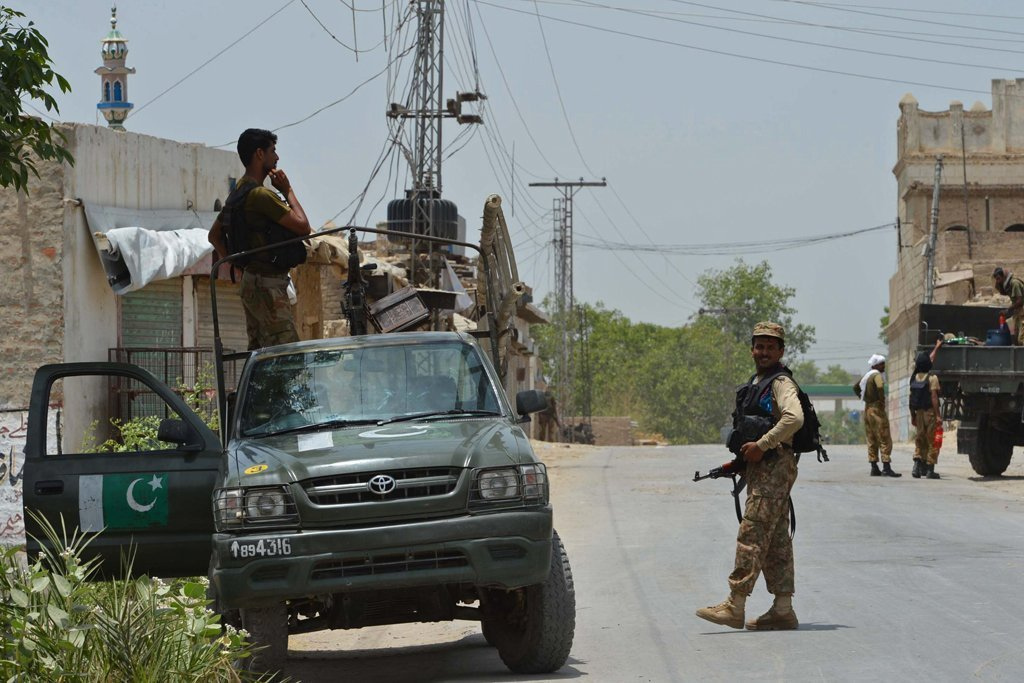 a file photo of pakistan army soldiers on patrol in north waziristan photo afp file