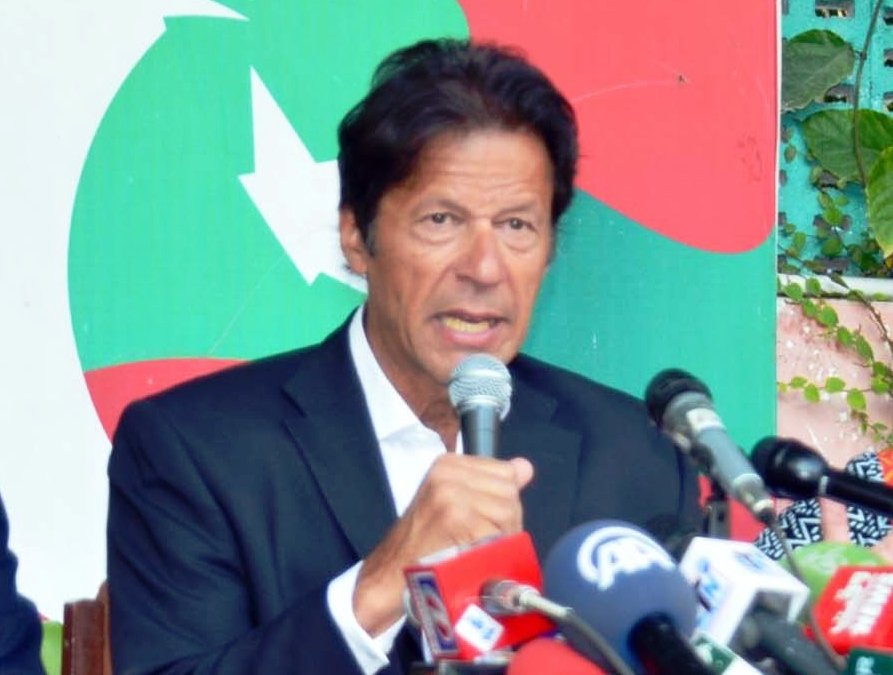 a file photo of pti chairperson imran khan photo ppi