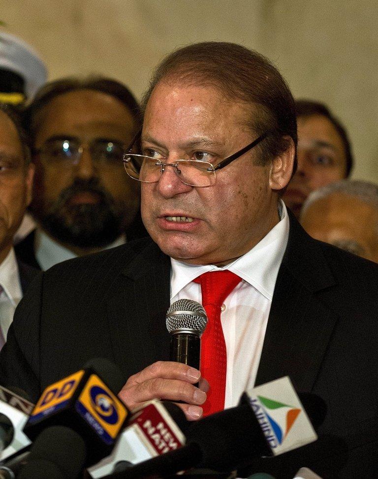 File photo of Prime Minister Nawaz Sharif. PHOTO: AFP