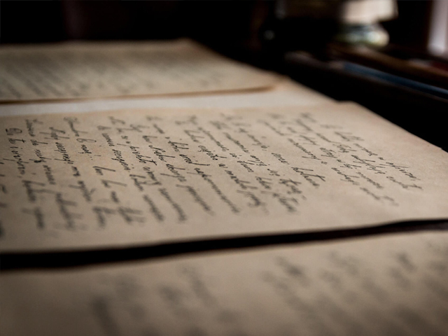 As I lay in my bed with the letter in my hand, I decided to read it one last time before burning it. PHOTO: PEXELS
