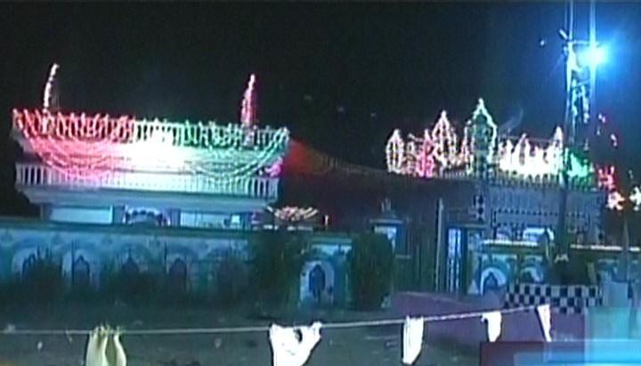 44 injured in a blast at a shrine near islamabad