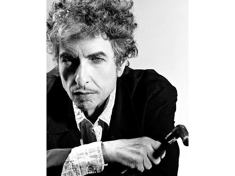 Bob Dylan is probably the most studied rock performer of the last 40 years, said Richard Austin, Sotheby's head of books and manuscripts. PHOTO: FILE
