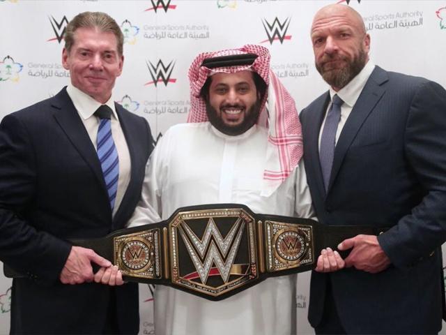 WWE will air the Greatest Royal Rumble in Saudi Arabia on the WWE Network. PHOTO: WWE